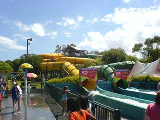 Der Wasserpark Adventure Park Geelong in Victoria © DWZ