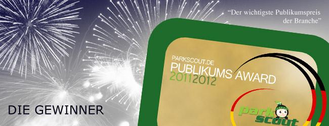 Parkscout Publikums Award 2011/2012