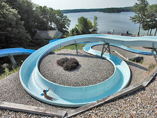 Breezy Picnic Grounds Water Slides © Breezy Picnic Grounds Water Slides